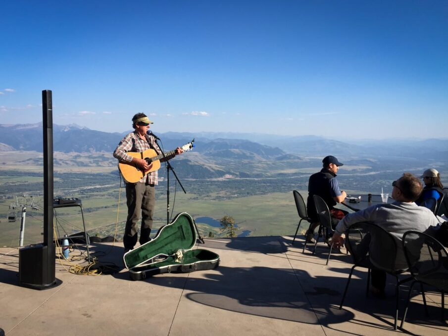 Live Music at The Deck Restaurant at Teton Village in Grand Teton National Park